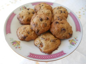Pear, Choc. Chip Cookies 005