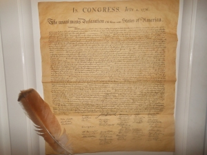 Declaration of Independence 001