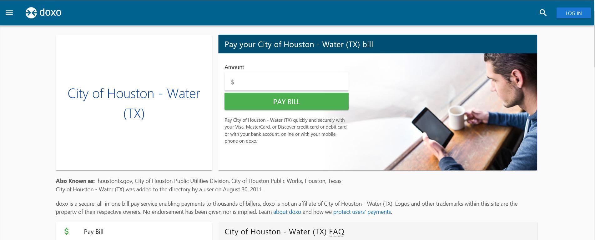 Suspicious Houston Water Bill Payment Website | News Blog