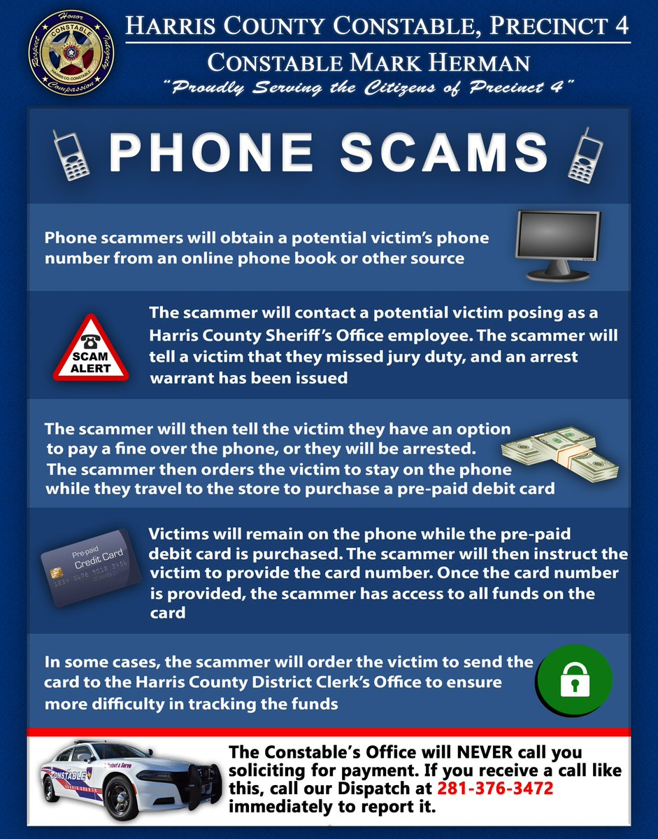 Harris County Phone Scams | News Blog